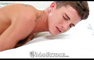 Handsome Cash Walker is use to being on his knees